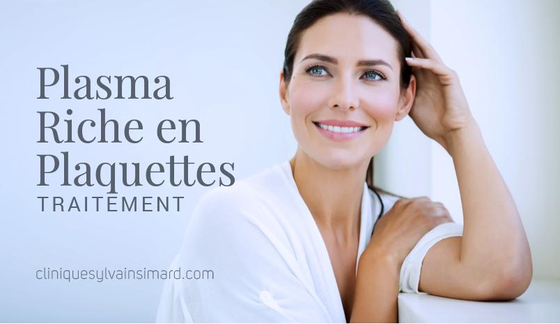 La Clinique Sylvain Simard Offre un Traitement PRP au Plasma Riche en Plaquettes